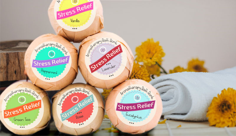 Bath Bomb Labels Professional Label Printing Online