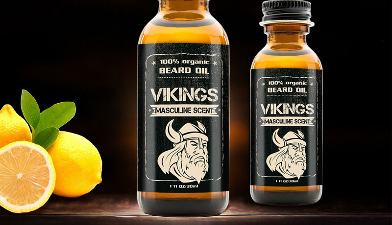 Beard Oil Labels Premium Quality Printing At Low Prices