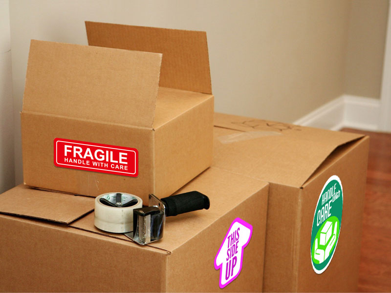 Box and Moving Labels
