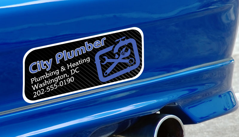 Custom Bumper Stickers For Cars And Vehicles - Custom car bumper stickers