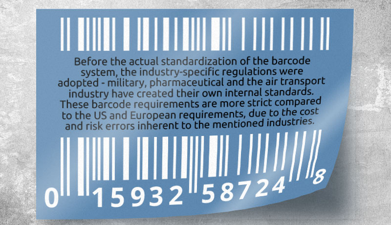 Industry-specific Barcodes