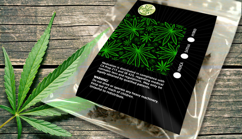 Cannabis Labels And Medical Marijuana Labels Print