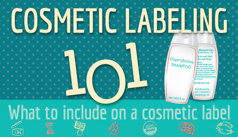 Cosmetic Labeling Infographic