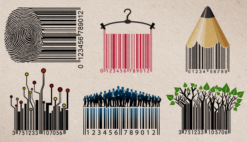 Creative Barcode Labels