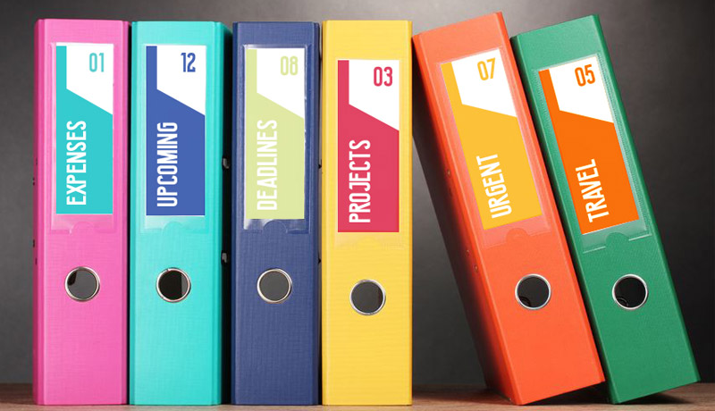 File Folder Labels Professional Printing At Low Prices