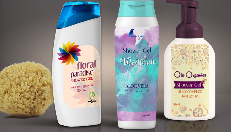 Shower Gel Labels 3