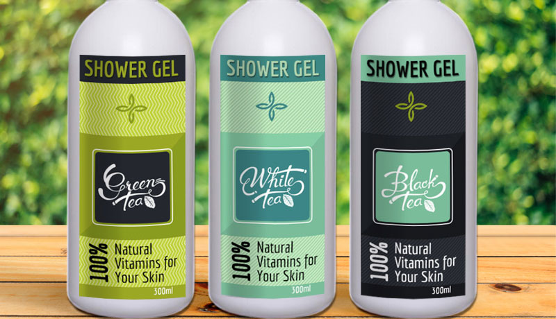 Shower Gel Labels 4