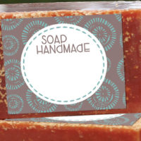 Free Printable Soap Label Template